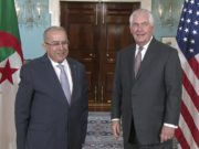 Secretary Rex Tillerson Meets With Algerian Foreign Minister Ramtane Lamamra