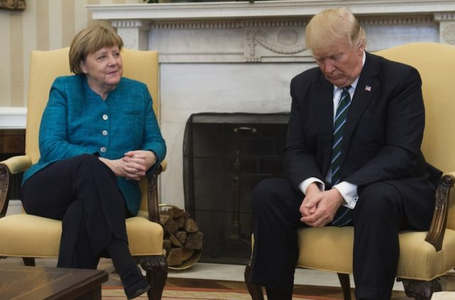 Trump Threatens Germany with Global Trade War in Twitter Tantrum