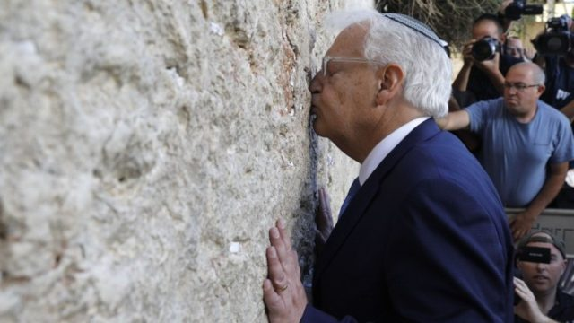 US Ambassador to UN Publicly Declares Western Wall Belongs to Israel
