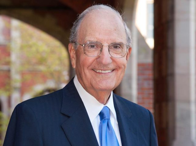 US Senator George Mitchell to Give Lecture at UNE's Tangier Global Forum