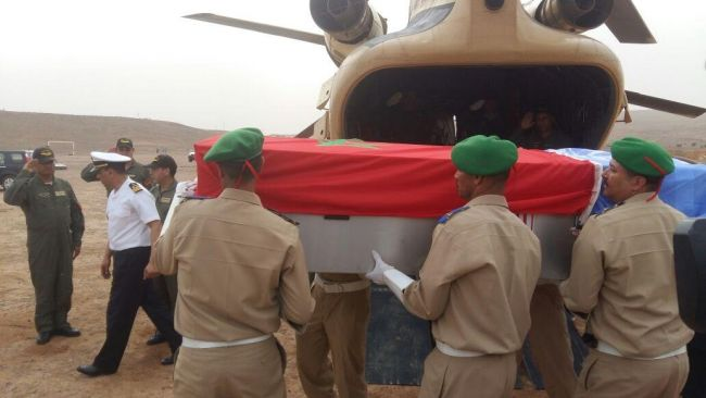 FAR Buries Remains of 2 Moroccan Peacekeepers Killed in Central African Republic