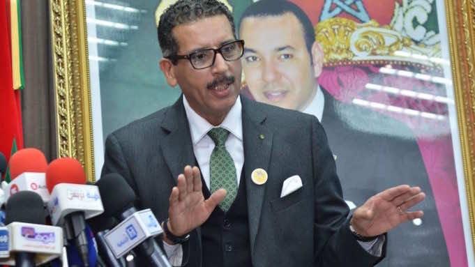 Abdelhak El Khiam, the head of Central Bureau of Judicial Investigations (BCIJ)