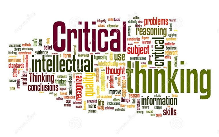 critical thinkning