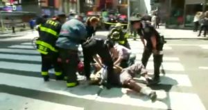 Car Jumps Curb in New York City Killing Young Girl and Injuring 22