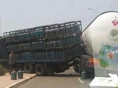Agadir: Crash Between Two Trucks Carrying Gas