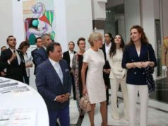 Princess Lalla Salma Shows Brigitte Macron Picasso Exhibition