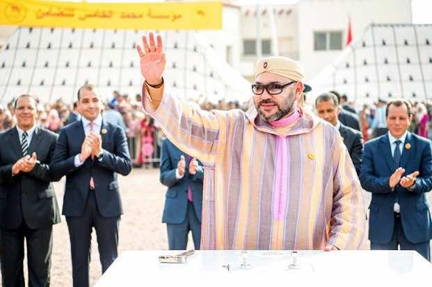 King Mohammed VI Lays Foundation Stone for Medical-Psychological-Social Center