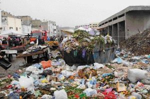 2100 new trash containers to clean up casablanca