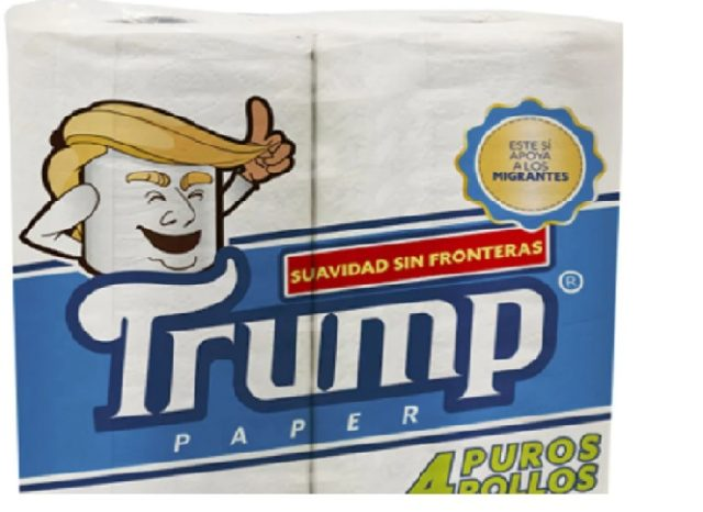 Softness without Borders:Mexican Businessman Rolls Out Trump Toilet Paper