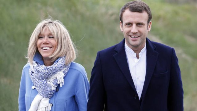 Emmanuel Macron and His Wife Visit Morocco June 14