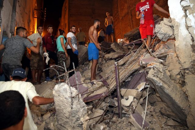 Fez: Two Apartment Blocks Collapse
