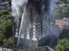 Grenfell Tower Block On Fire In West London