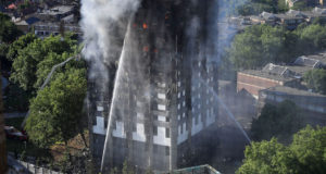 Grenfell Tower Block On Fire In West London