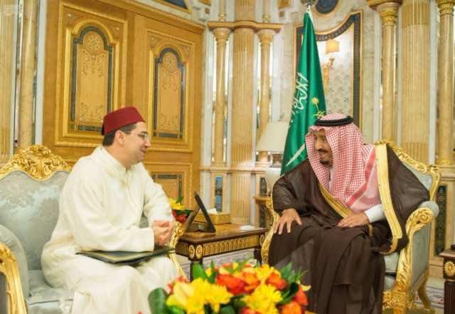 Gulf Crisis King Salman Receives Morocco's Chief Diplomat Nasser Bourita