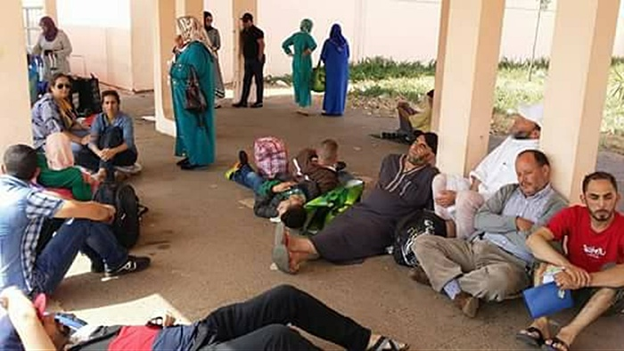 Heartbreaking Photos Show Families of Rif Detainees Suffering, CNDH Gives Helping Hand
