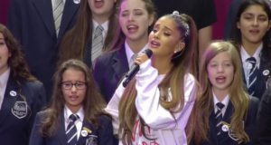 In the Face of Terror, Ariana Grande Sings On
