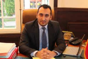 Isaac Charia, a Moroccan Jewish lawyer in Rabat