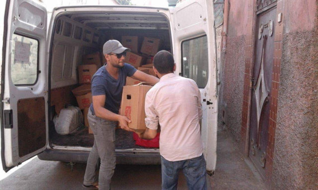 Jews, Christians, Muslims Donate Food to Families for Ramadan