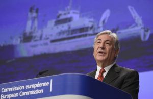 Karmenu Vella, the European Commissioner for Maritime Affairs and fisheries