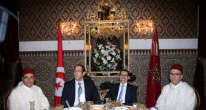 King Mohammed VI Offers Iftar in Honor of Tunisian Head of Govt.