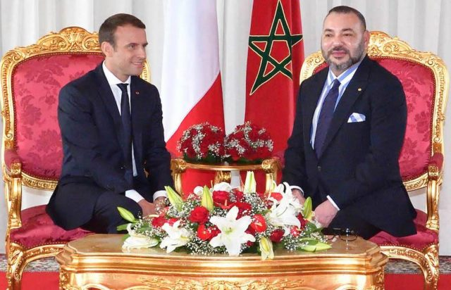 Macron Salutes King Mohammed VI for 'Eminent' Role in Fighting Religious Extremism