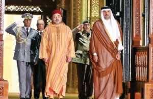 King Mohammed VI and Sheikh Tamim bin Hamad Al Thani