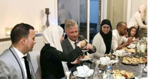 King Philippe of Belgium Breaks Fast With Moroccan Family