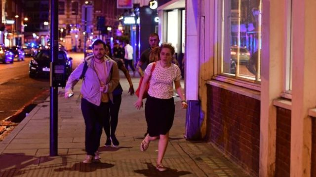 London Hit by Van and Knife Attack at London Bridge