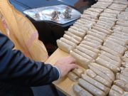 Moroccan Arrested While Smuggling 20 kg of Hashish into Ceuta