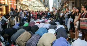 Muslims And Jews Share Iftar Near Trump Tower in New York