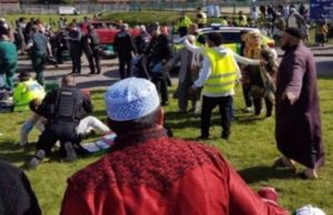 People Injured as Car Crashes Muslims Leaving Eid Prayers in Newcastle
