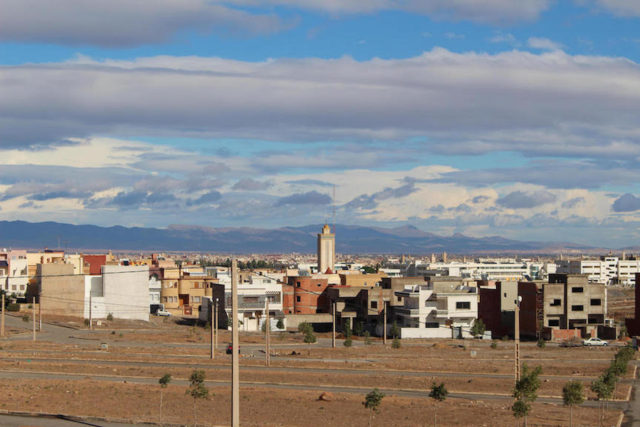 Immigrants in The city of Oujda