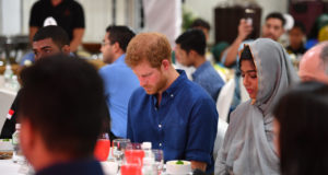 Prince Harry Shares Iftar with Muslim Community in Singapore