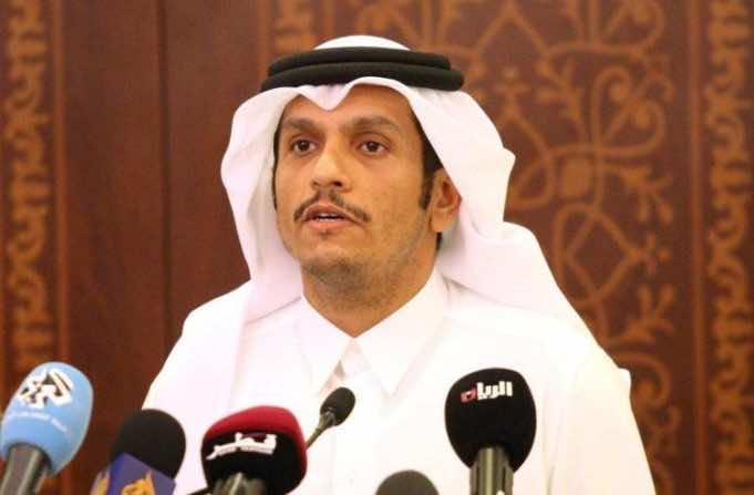 Qatar's Foreign Minister, Sheikh Mohammed bin Abdulrahman Al Thani
