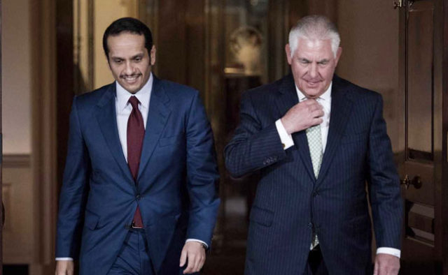 Tillerson to Travel to Kuwait Monday to Discuss Qatar Crisis