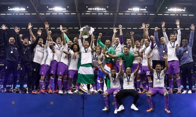 Real Madrid Wins Champions League Battle With a 4-1 Victory