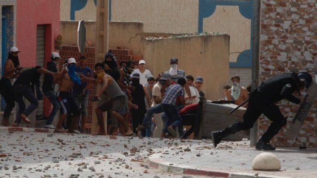 Rif Protests: 20 Police and Security Officers Injured in Al Hoceima