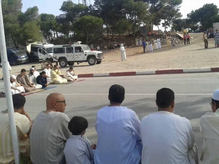Rif Protests Police Disperse Al Hoceima Protesters on Eid El Fitr