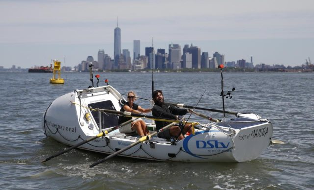 South African Couple Breaks Record Sailing from Morocco to New York