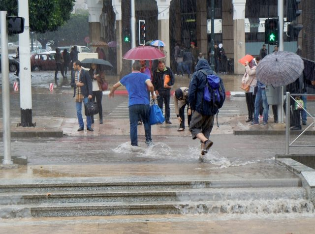 Rain, Strong Thunderstorms to Hit Several Moroccan Regions on Sunday and Monday