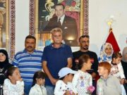 Syrian Refugees Taken in from Morocco-Algeria Border Thank King Mohammed VI