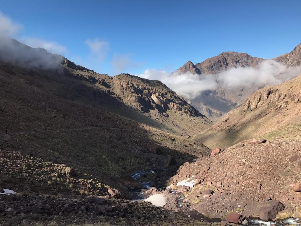 Tenderfoots on Toubkal