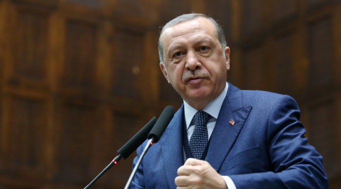 Turkey's President, Recep Tayyip Erdogan.