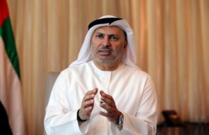 United Arab Emirates state minister for foreign affairs, Anwar Gargash