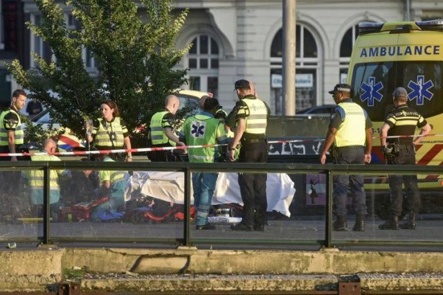 Vehicle Slams into Pedestrians in Amsterdam
