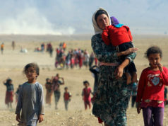 Yazidi women and girls are throwing themselves to their deaths from Mount Sinjar, to avoid being sold as sex slaves by militants, according to witnesses. Reuters