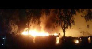 Video: 100 Houses Engulfed in Flames in Town Near Rabat