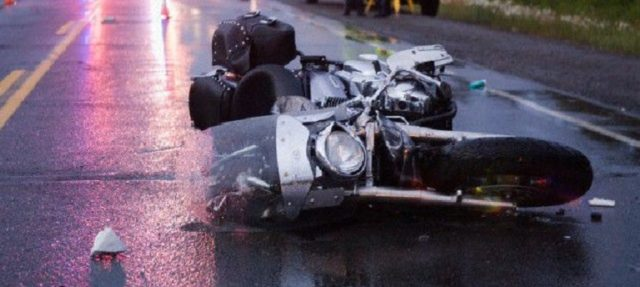 Police Officer in Custody After Crashing Into Motorcyclist