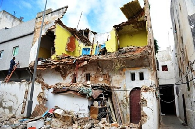 1 Dead, 3 Wounded in Rabat House Collapse