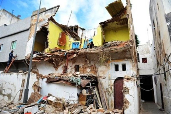 1 Dead 3 Wounded In Rabat House Collapse